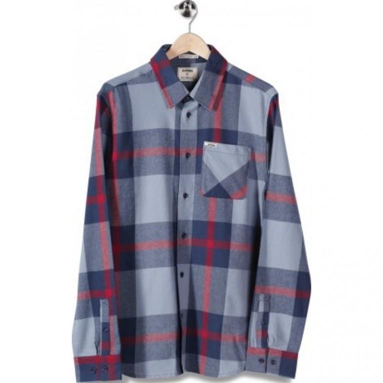Рубашка Etnies Chi Town Flannel L/S dark grey