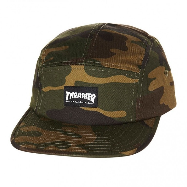 Кепка Thrasher 5 Panel Hat Camo