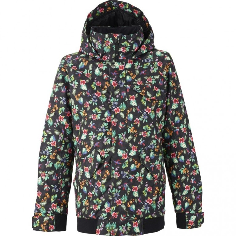Куртка Burton TWC Sunset Snowboard Jacket  Bird Floral Print