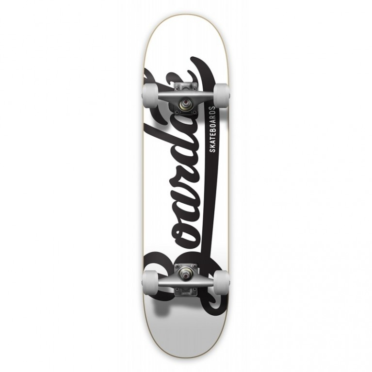 Скейт в сборе Boardak Skateboards SS17 B-Logo White