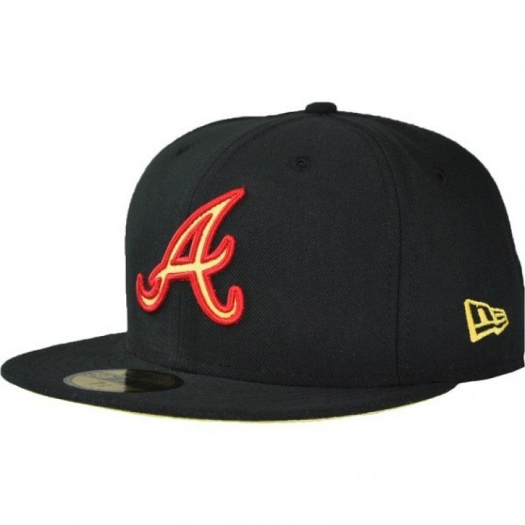 Кепка New Era Atlanta Braves (b/r/y)