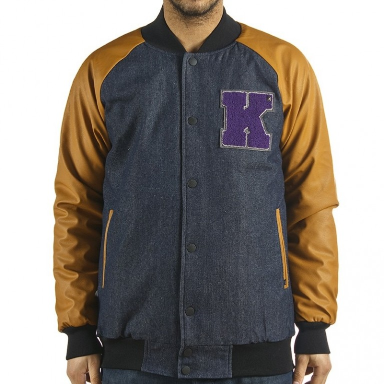 Куртка Krew Breakdown Denim TK Jacket Indigo