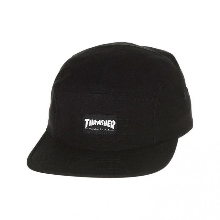 Кепка Thrasher 5 Panel Hat Black