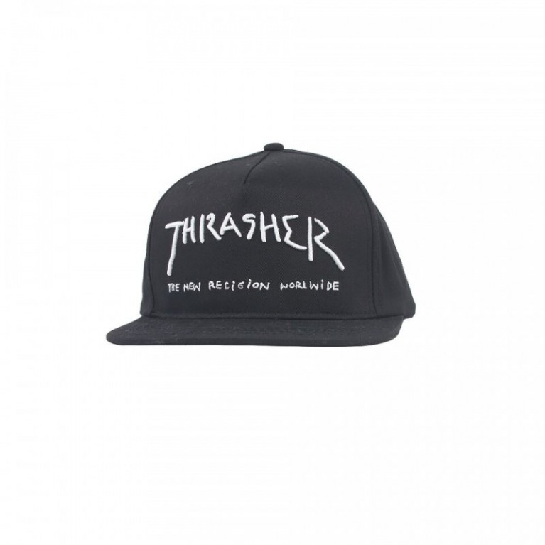 Кепка Thrasher New Religion Snapback Black