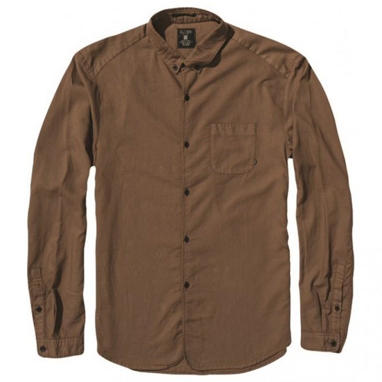 Рубашка Globe Goodstock Oxford Shirt Brown