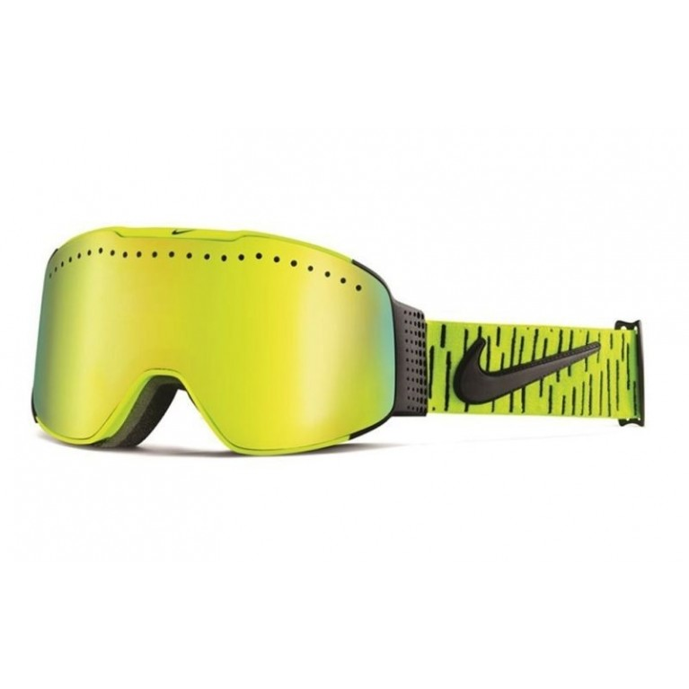 Маска Nike SB Fade Goggles Volt Black Smoke Gold Ion Yellow Red Ion