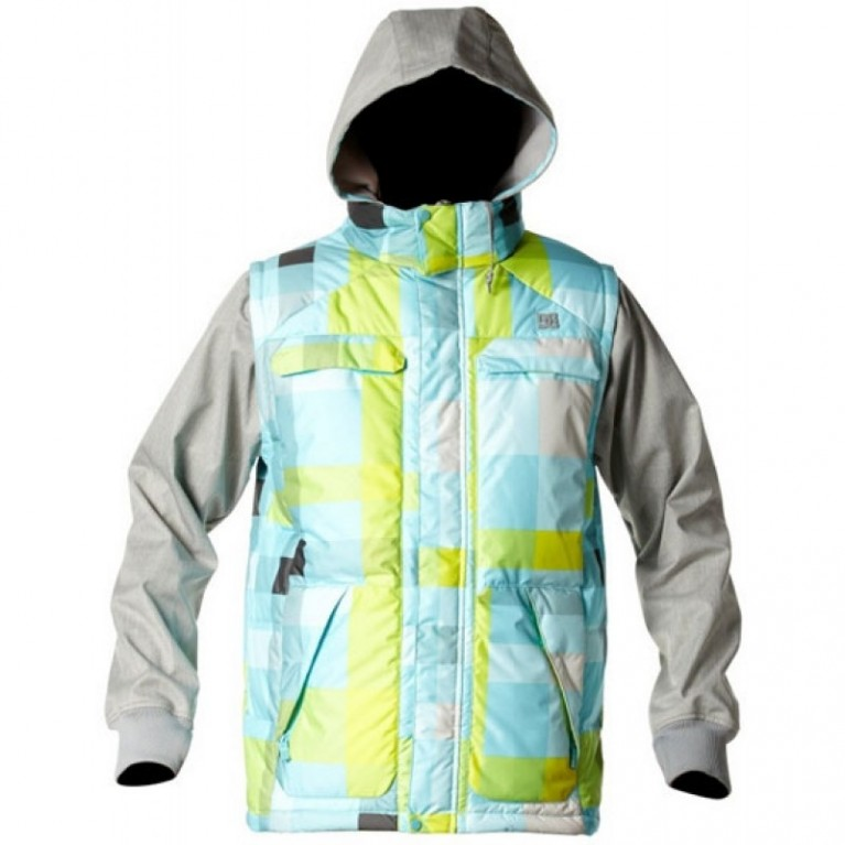 Куртка DC Silverton Blurred Plaid