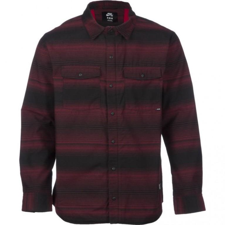 Рубашка NIKE SB Dimension Flannel /Team Red Gym Red