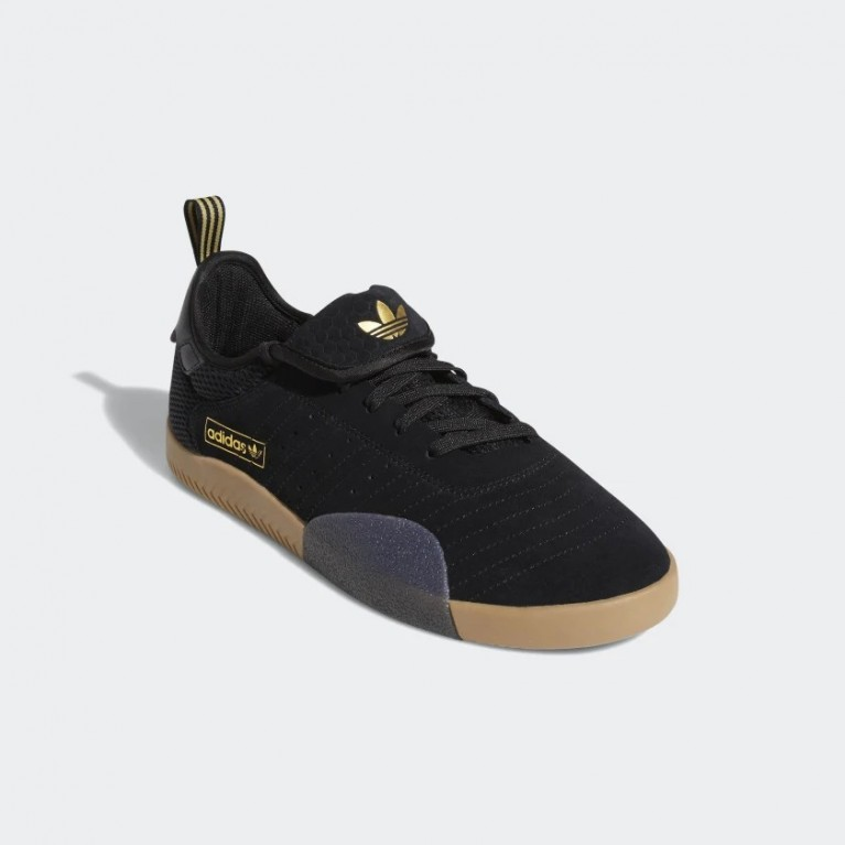 Кеды Adidas 3ST.003 Core black/Gold.Met