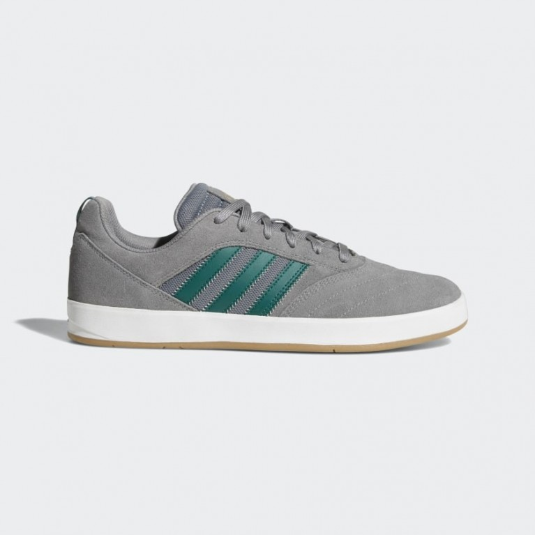 Кеды Adidas Skateboarding Suciu ADV II Grey Three / Noble Green