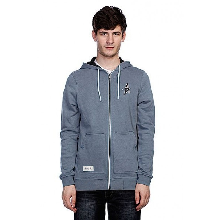 Толстовка basic zip hood harbor blue