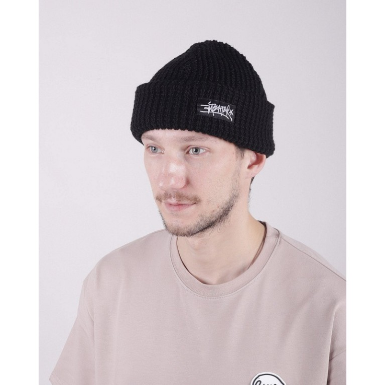 Шапка ANTEATER Ant-Hat2-Waffle-Blk