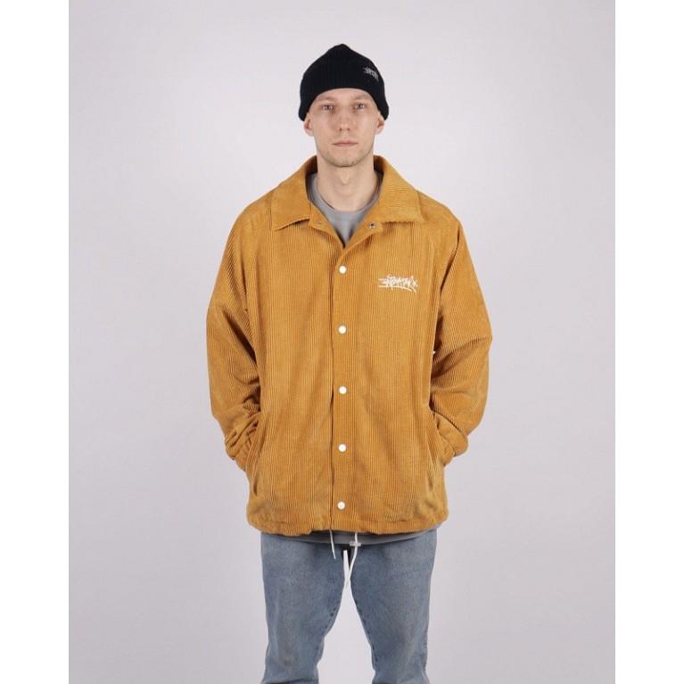 Куртка ANTEATER Coachjkt-Vlvt-Yellow-B.N.