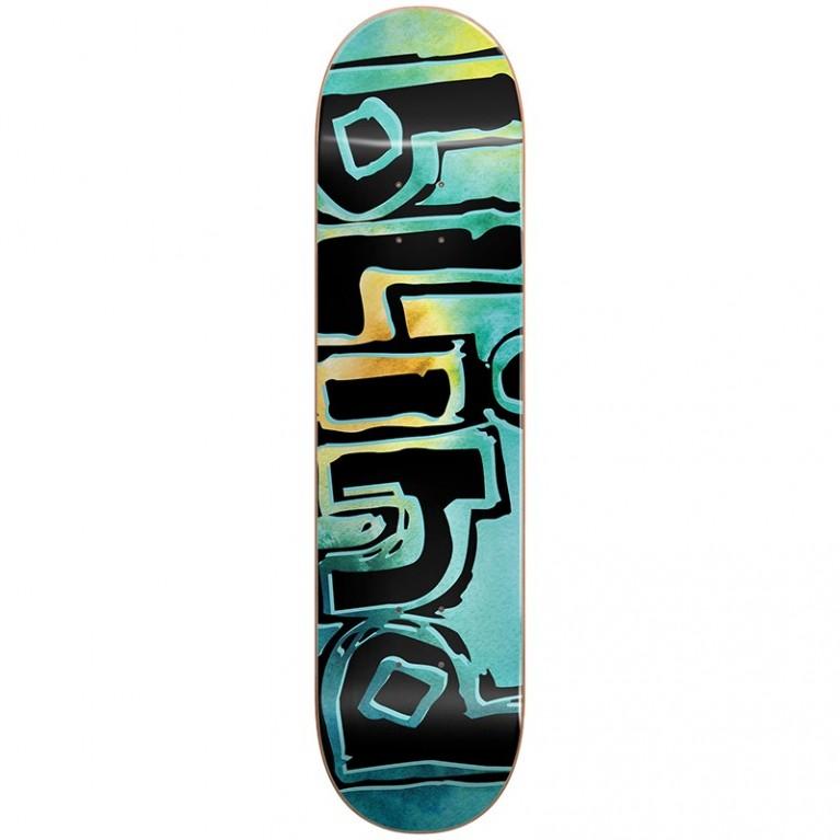 Дека для скейта Blind SS19 OG Water Color RHM Teal 8 x 31,5625 x 14