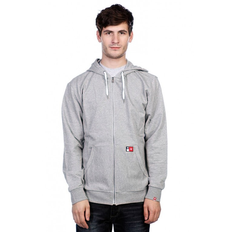 Кофта DC CORE ZIP M OTLR HEATHER GREY