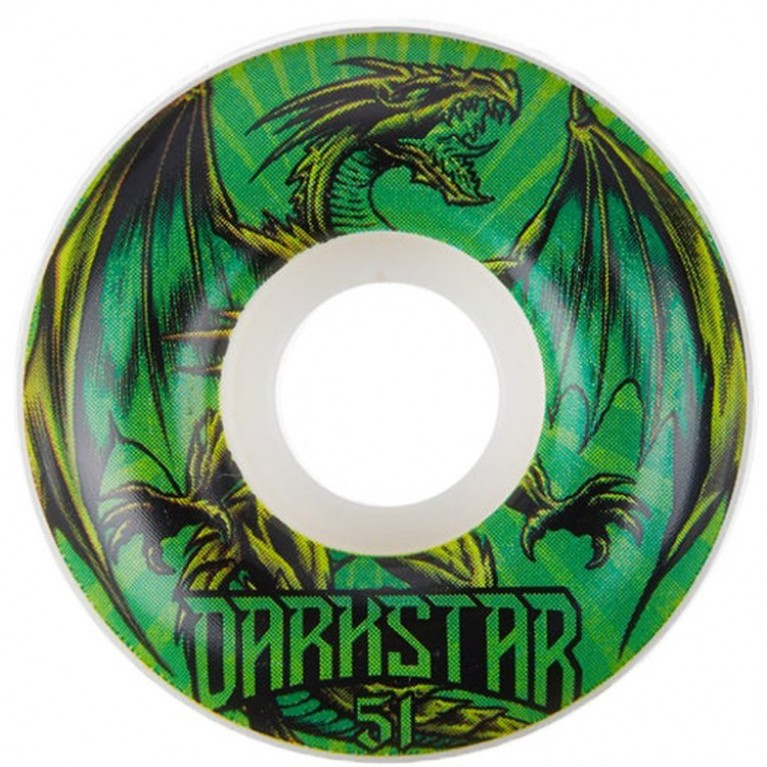 Колеса Darkstar Levitate Wheel Green 51mm