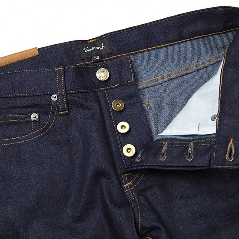 Штаны Diamond INDI INDIGO Skate Life Stretch Denim