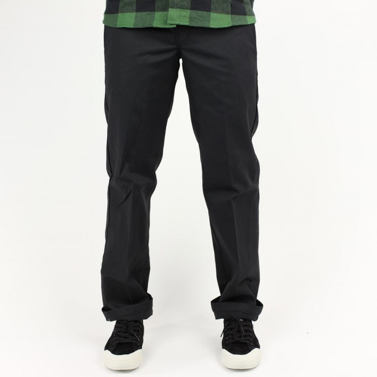 Брюки м Dickies Slim Straight Work Pant Black