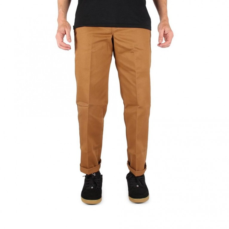 Брюки м Dickies Slim Straight Work Pant Brown Duck