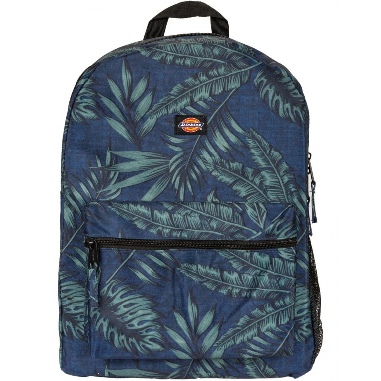 Рюкзак Dickies Student Tropical Backpack Navy Green Tropical