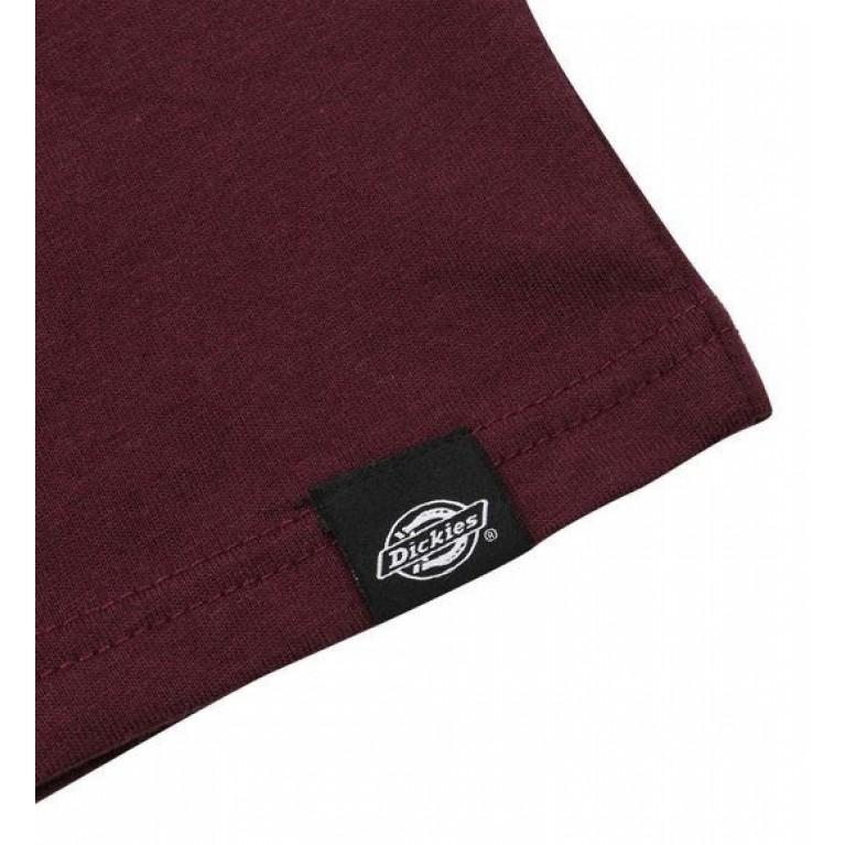 Футболка м Dickies Horseshoe Tee Men Maroon