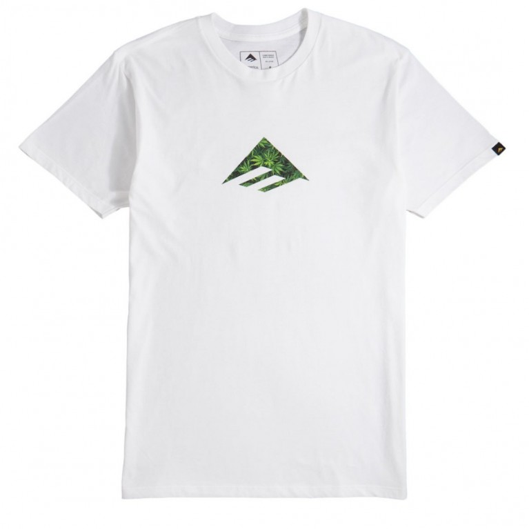 футболка Emerica Triangle - white/green