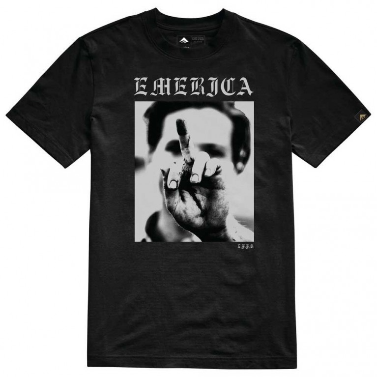 футболка Emerica Smile Photo T - black