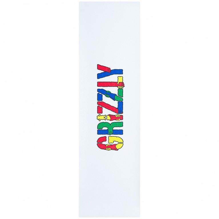 GRIZZLY шкурка для деки GET A GRIP GRIPTAPE (SS21) (MULTI, O/S)