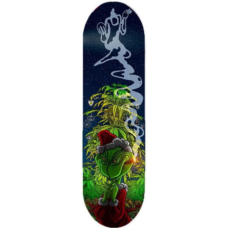 Доска Haunted Family Grinch Deck