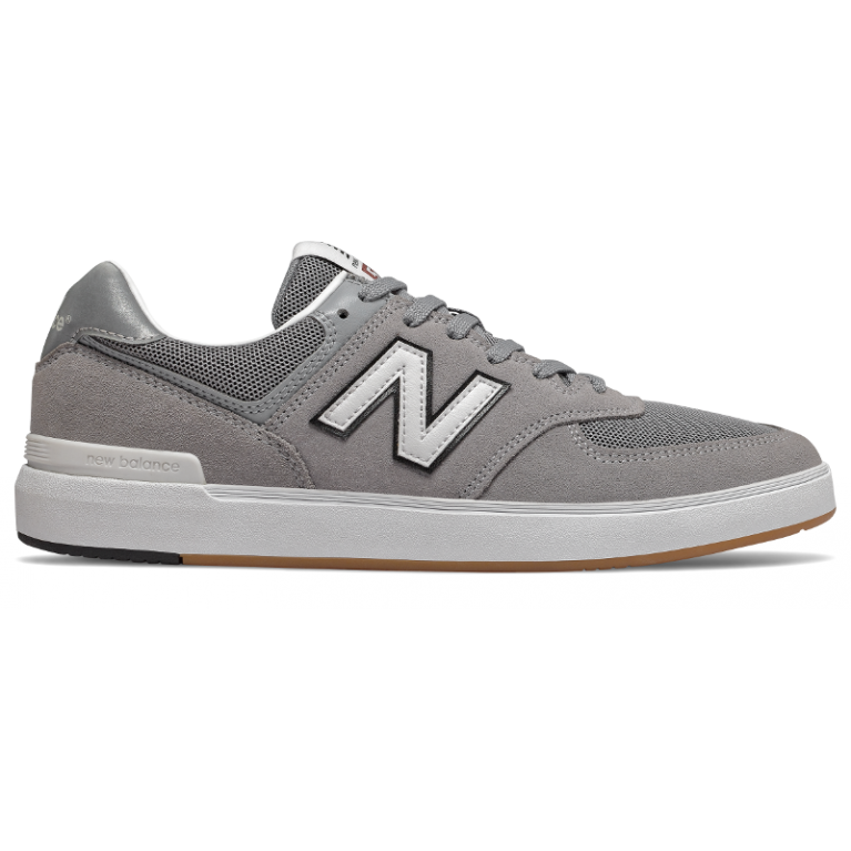 Кеды New Balance Numeric AM574 Steel Grey