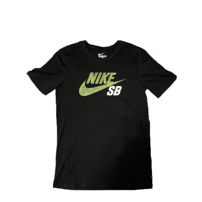 Футболка Nike SB Dri-Fit Icon Reflective Tee Black/Gold