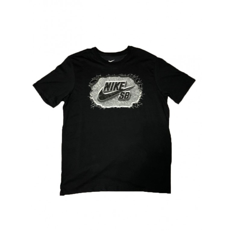 Футболка NIKE SB Dri-FIT Marble Icon BLACK/BLACK