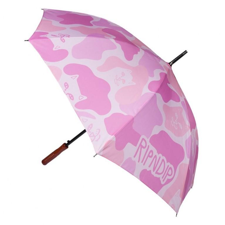 Зонтик Ripndip Pink Camo Umbrella