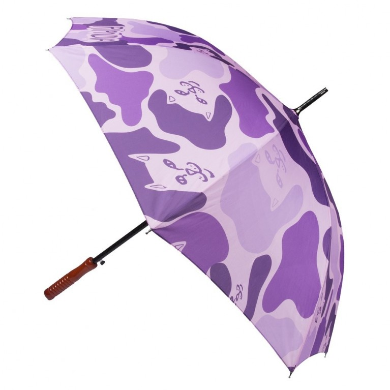 Зонтик Ripndip Purple Camo Umbrella