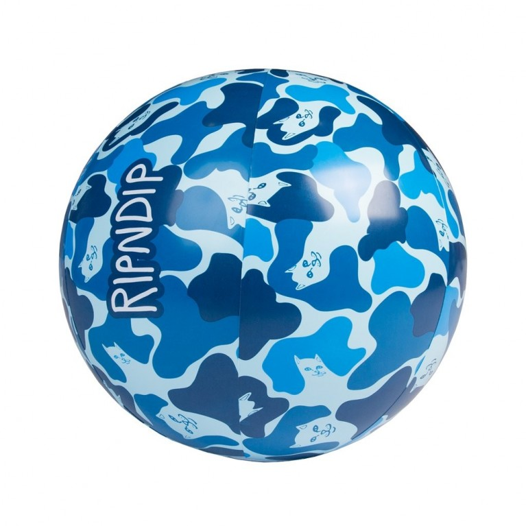 Надувной мяч Ripndip Beach Bum Beach Ball Blue Camo