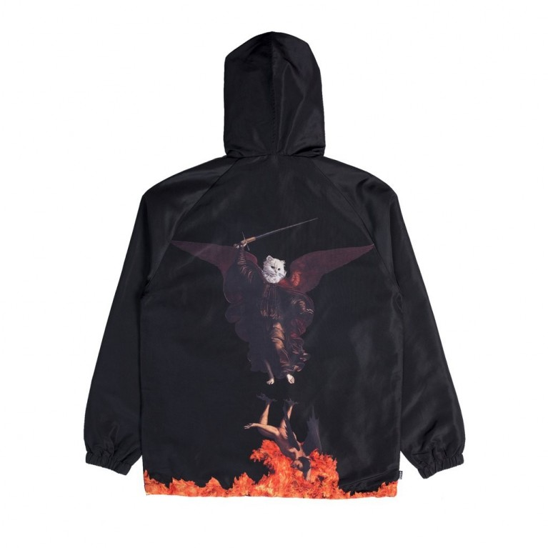 Куртка Ripndip Hell Pit Hooded Coach Jacket Black