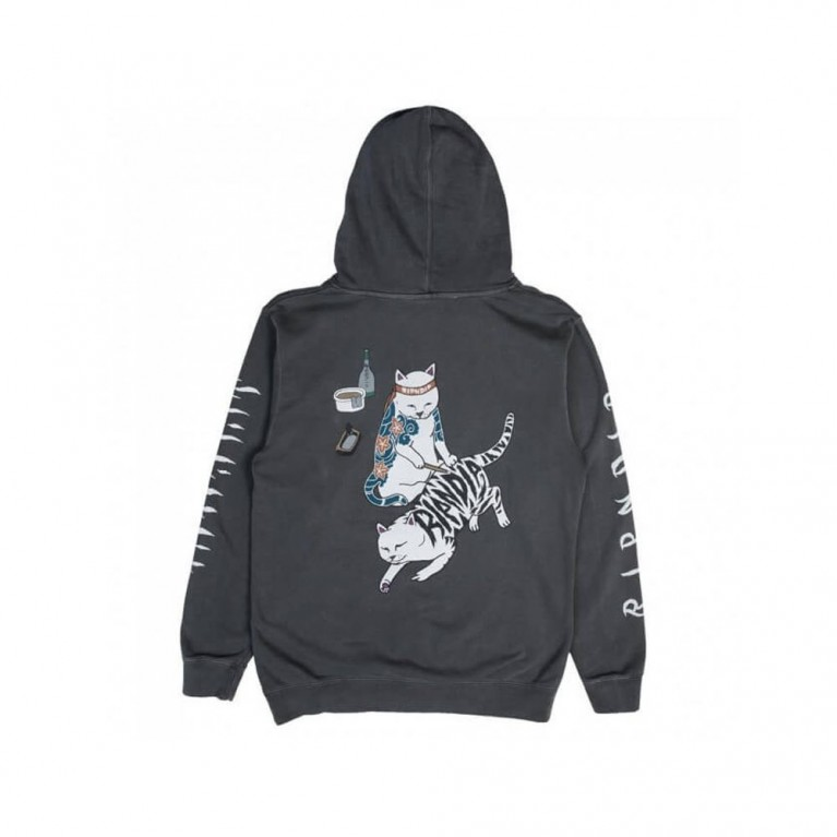 Толстовка Ripndip Tattoo Nerm Pullover Sweater Black
