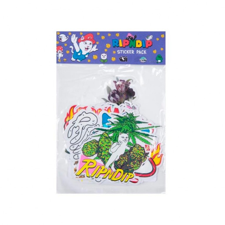 Стикеры Ripndip Holiday 19 Sticker Pack
