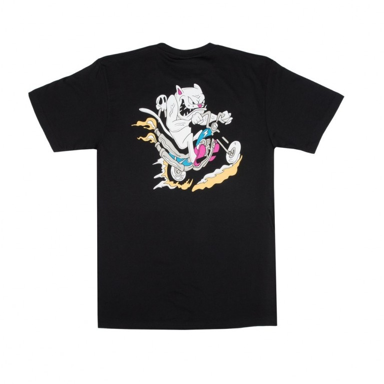 Футболка Ripndip Nerm Gear Head Tee Black