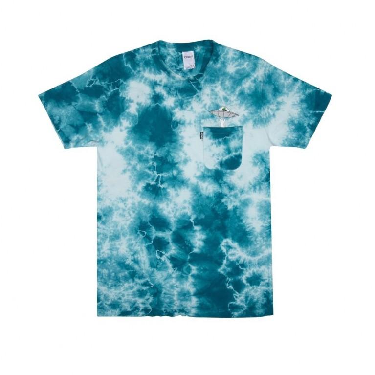 Футболка Ripndip Probe Tee Aqua Tie Dye