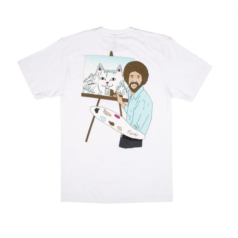 Футболка Ripndip Ross Tee White