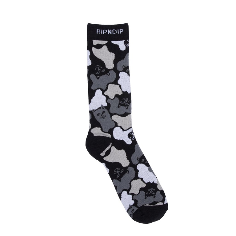Носки Ripndip Blizzard Socks Black Camo