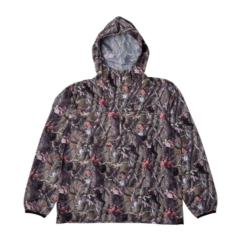 Анорак Ripndip Nerm & Jerm Tree Camo Packable Anorak Multi