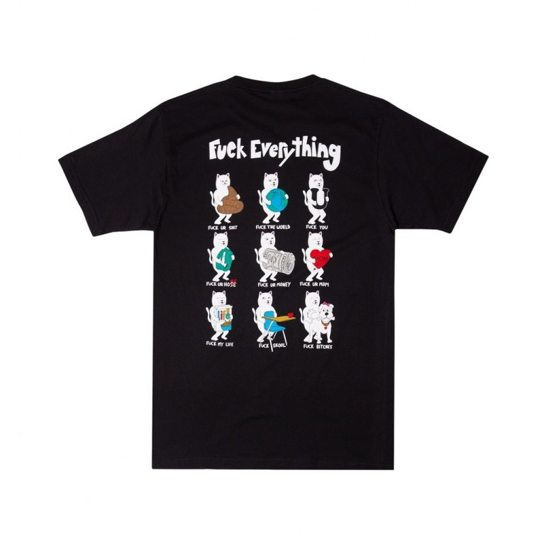 Футболка Ripndip Fuck Everything Tee Black