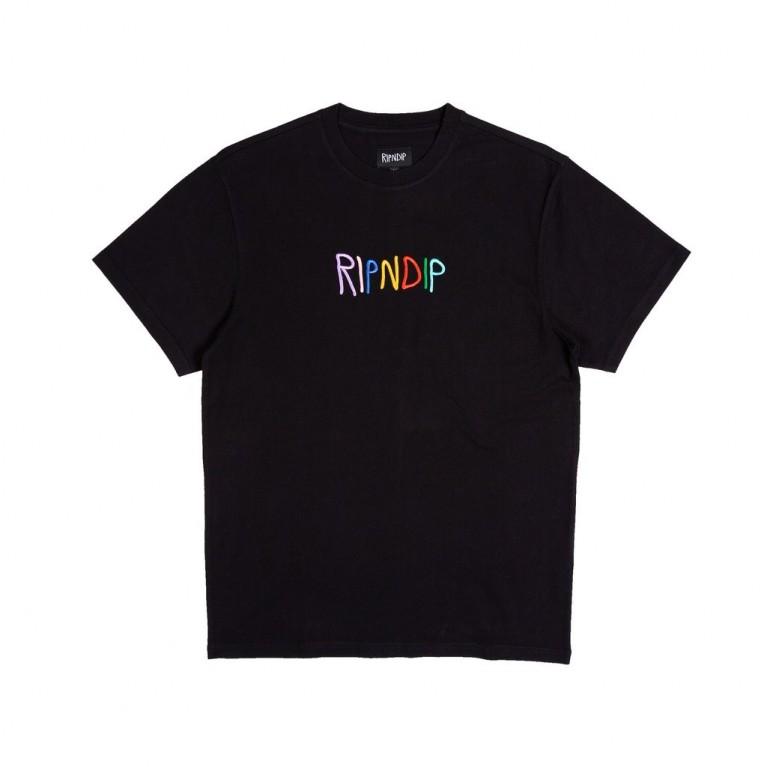 Футболка Ripndip EMB Logo Tee Black
