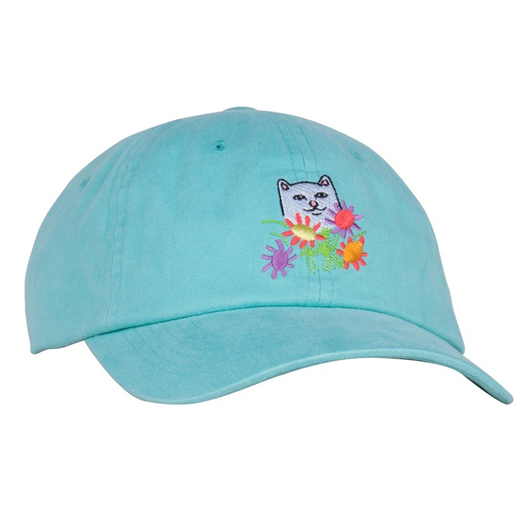 Кепка Ripndip Flowers For Bae Dad Hat Mint