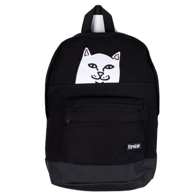Рюкзак Ripndip Lord Nermal Backpack Black Corduroy