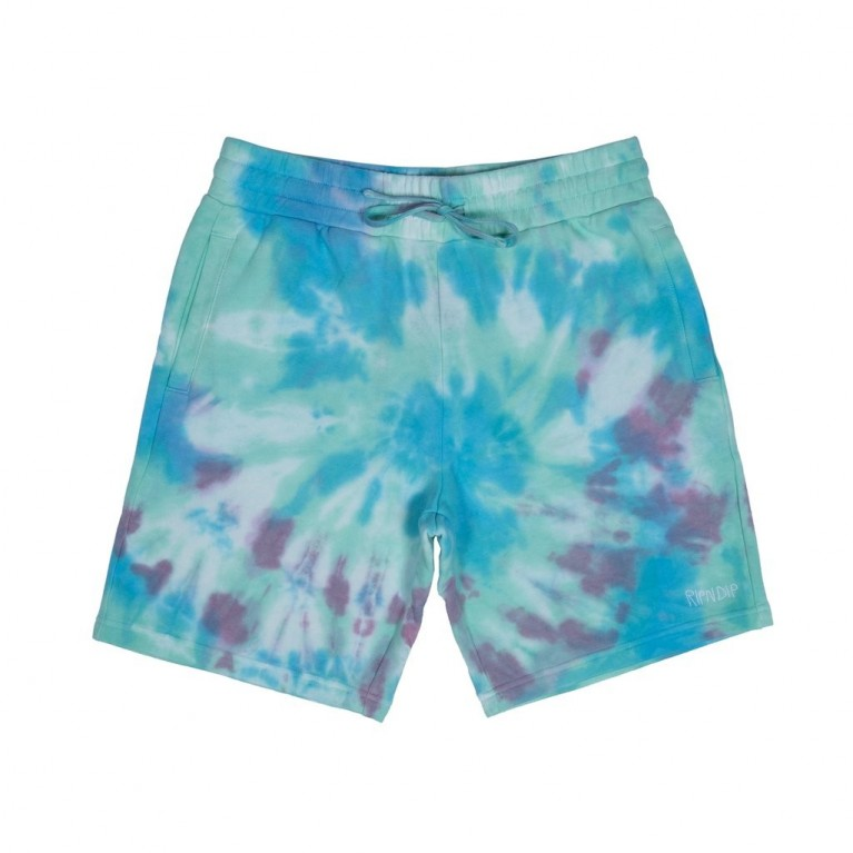 Шорты Ripndip Peek A Nermal Sweat Shorts Tie Dye