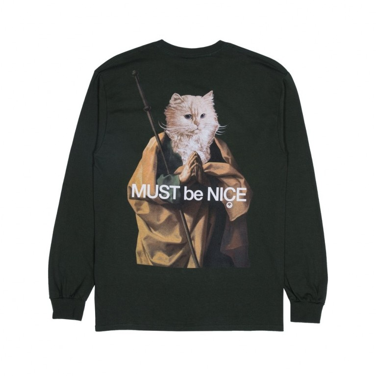Лонгслив Ripndip Nermus LS Hunter Green
