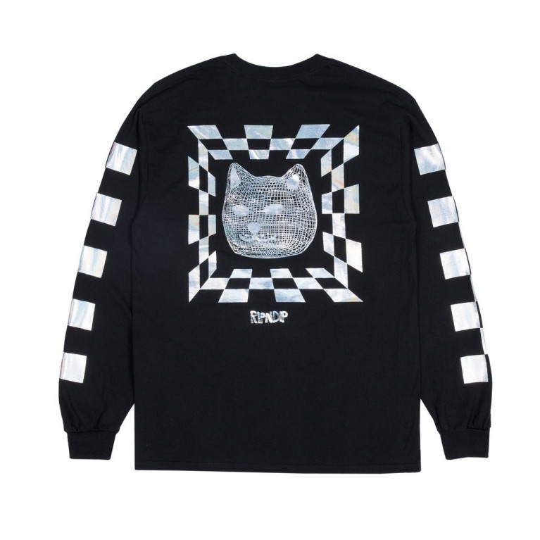 Лонгслив Ripndip Illusion LS Black